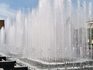 Luz, agua y sonido en el Parque Labordeta