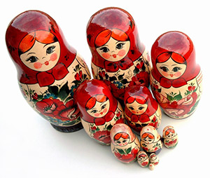 Taller de muñecas rusas