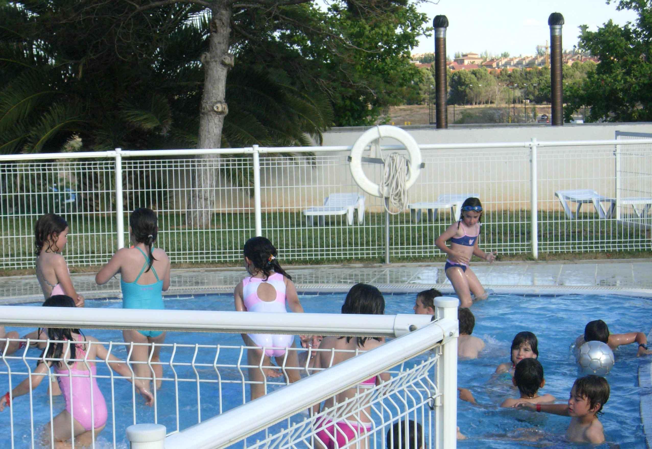 Campus de verano en El Camping de Zaragoza