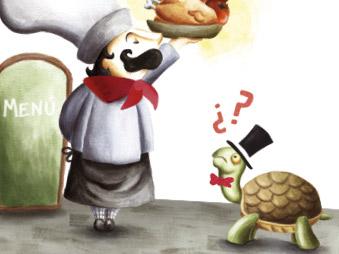 Cocina rápida para tortugas