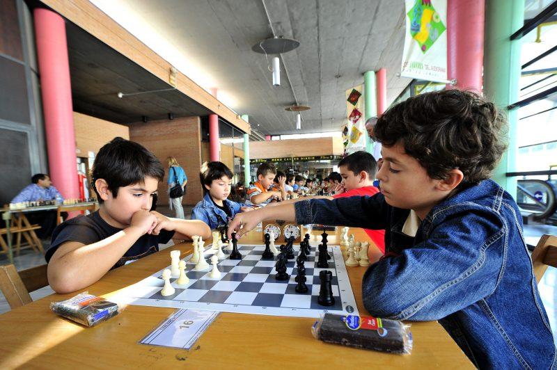 Torneo de ajedrez en los Porches del Audiorama