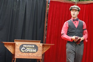 Civi Civiac actuará en la Carpa Mágica