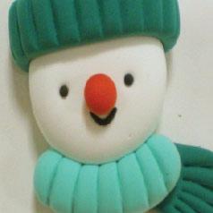 Muñeco de nieve con Jumping Clay