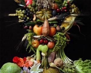 retrato Verduras