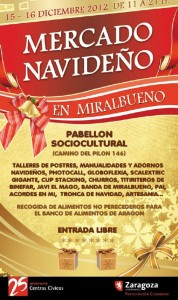 mercado de Navidad en Miralbueno