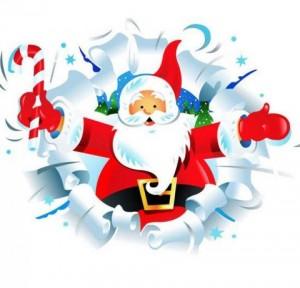 Papa Noel en Topitos