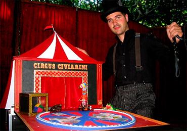 Civi Civiac en el Teatro de Feria