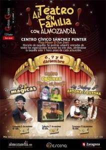 'Al Teatro en Familia con Almozandia'