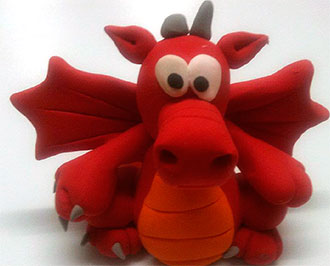 dragon Jumping Clay