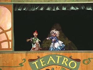 Títeres de Cachiporra en el Teatro Arbolé