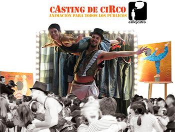 casting de circo