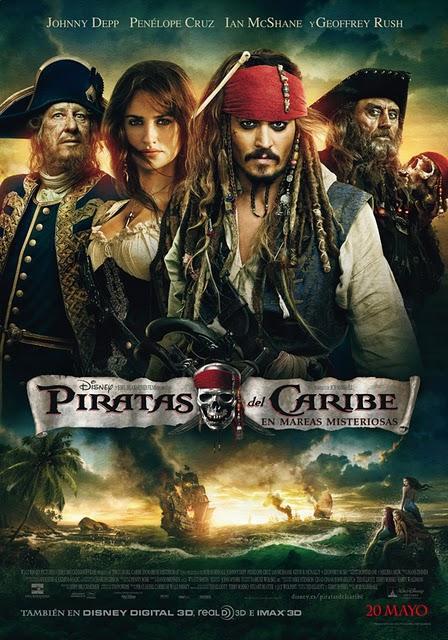 Vuelve Piratas del Caribe