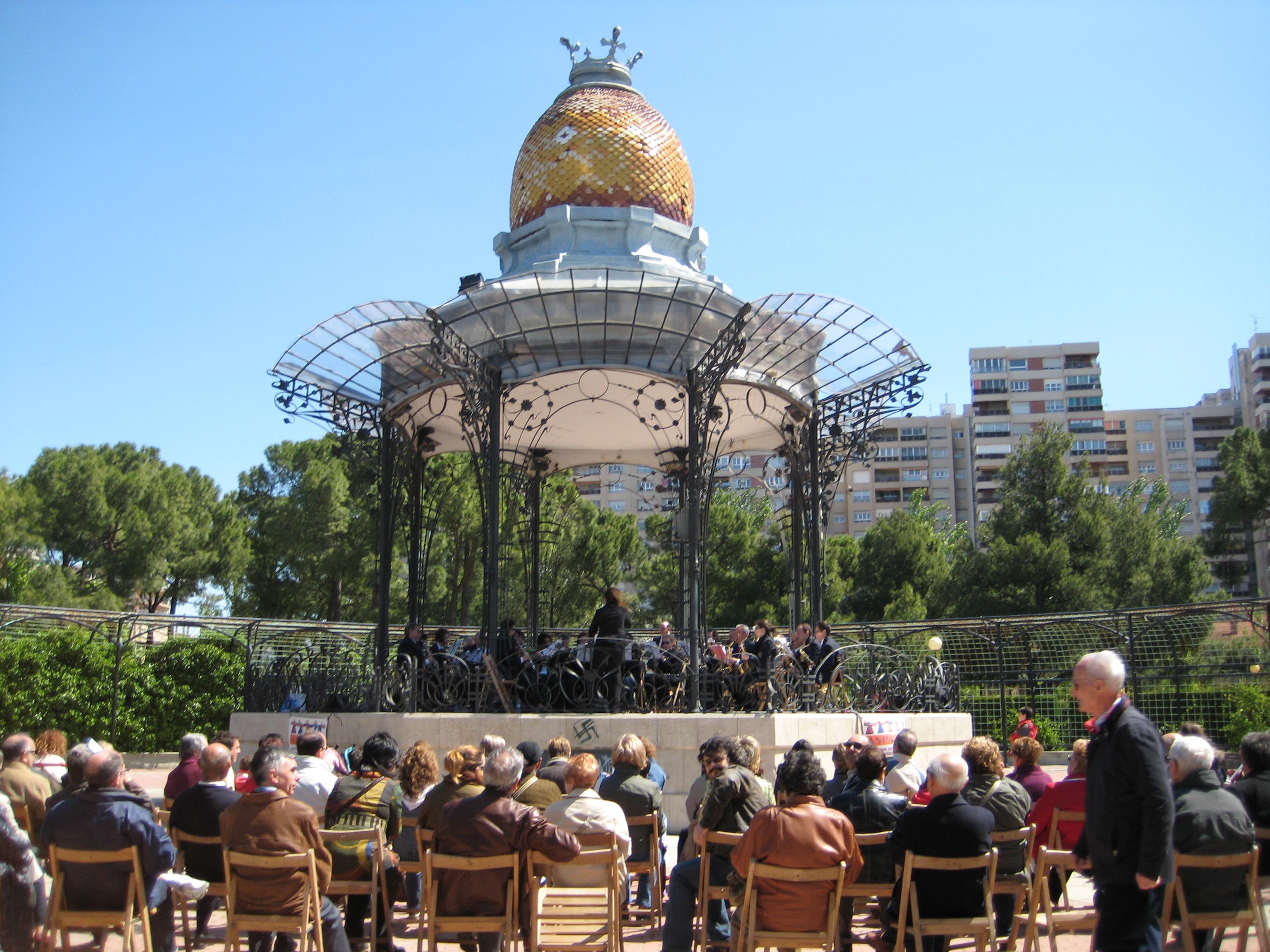 Conciertos matinales en el Quiosco de la Música