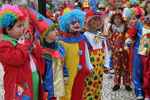 El desfile del Carnaval es uno de los actos más vistosos