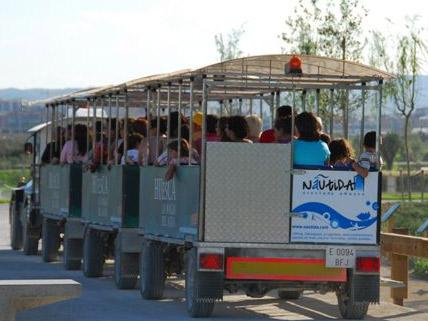 tren parque del agua