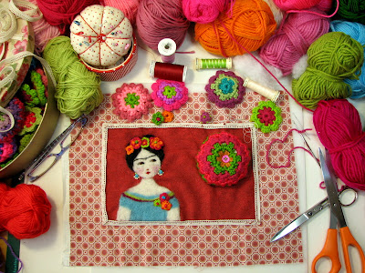 Molüa nos enseña a tricotar flores muy originales