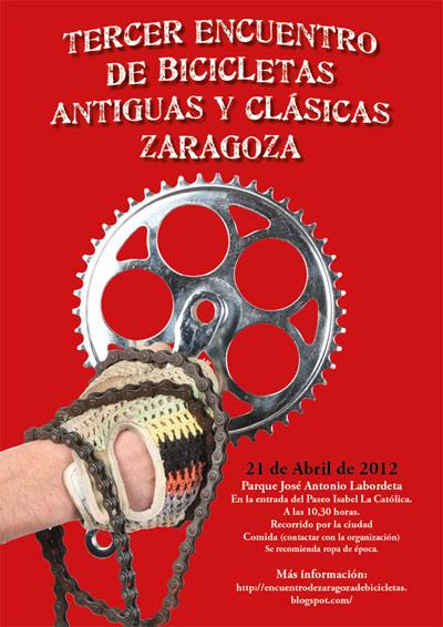 Encuentro de Bicicletas Antiguas y Clásicas de Zaragoza