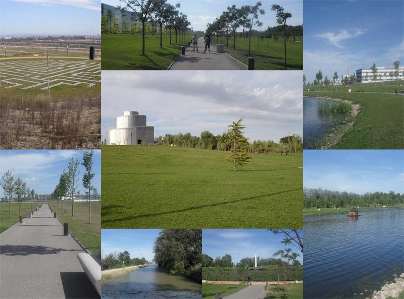 Parque lineal de Plaza