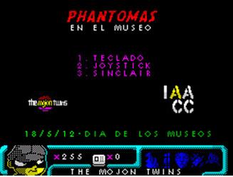 Phantomas en el Museo