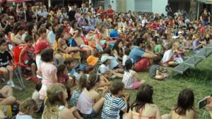 Animación infantil en el camping de Zaragoza