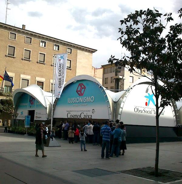 carpa CosmoCaixa