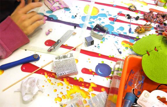 Talleres creativos para niños