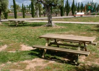 mesas de picnic