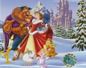 La Bella y la Bestia Navidad