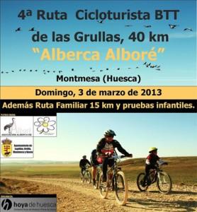 Cicloturista Las Grullas