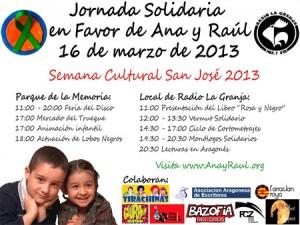 Jornada solidaria por Ana y Raúl