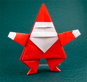 origami papanoel