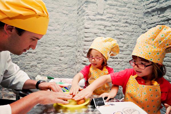 Taller de cocina para padres e hijos