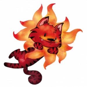 El gato sol