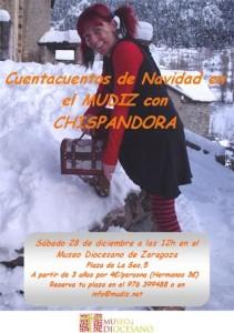 Cuentos de Navidad con Chispandora