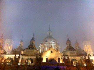 Espectáculos navideños en la plaza del Pilar