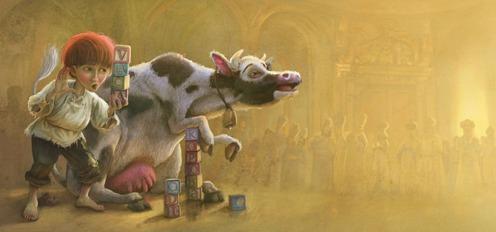 Abaskhia. El muchacho que quería enseñar a hablar a las vacas