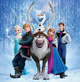 Fiesta Frozen en Zagalines