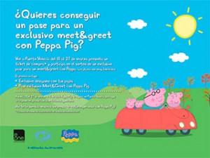 Peppa Pig en Puerto Venecia