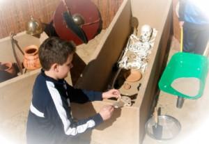 Arqueología para niños