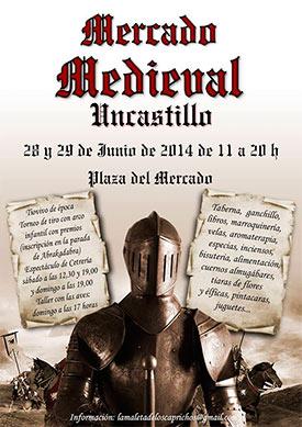 mercado medieval uncastillo