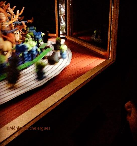 expo Pixar zootropo