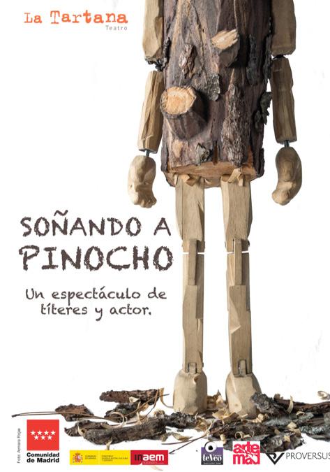 cartel de la obra Pinocho