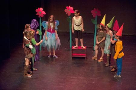 cursos de teatro y musica para niños