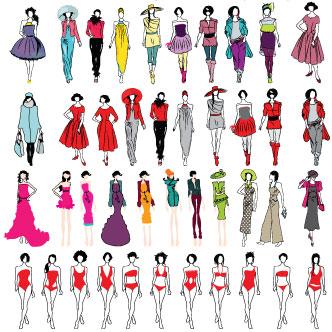 Semana santa taller de dibujo para dise o de modas con for Dibujos de disenos de moda
