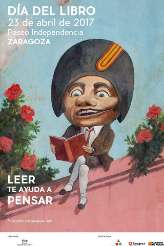dia del libro en Zaragoza