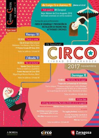 festival circo zaragoza 2017