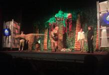 dinosaurios en el pilar