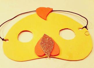 mascara pollito