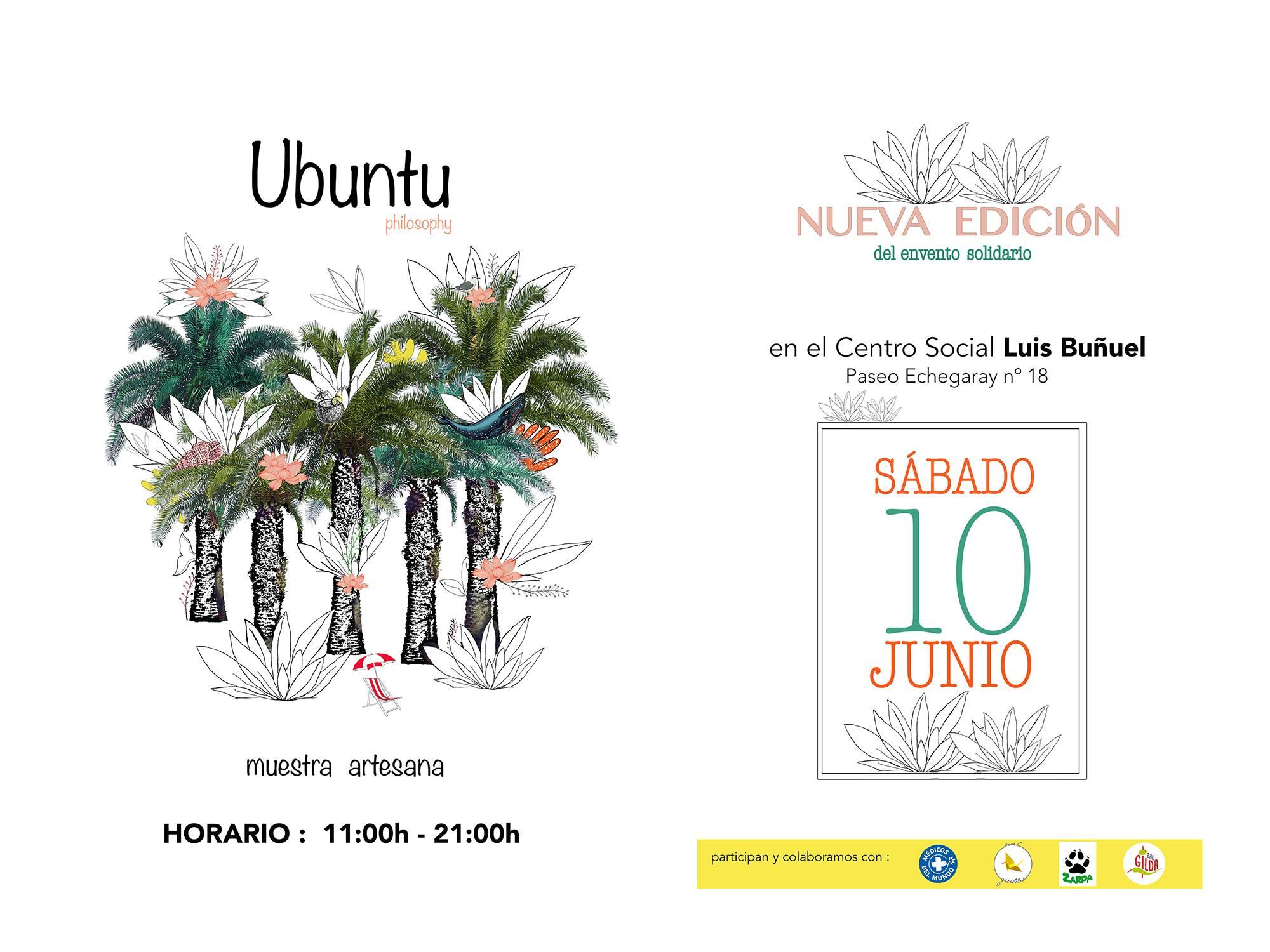 Ubunto, evento solidario