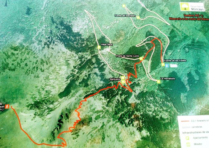 mapa moncayo